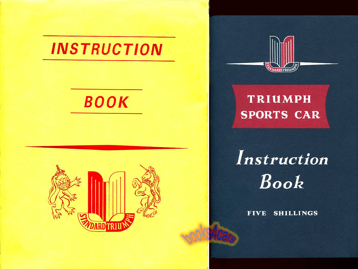 REAL BOOK Owners Manual Book by Triumph complete with special envelope  pouch. Book is in New, never-opened condition