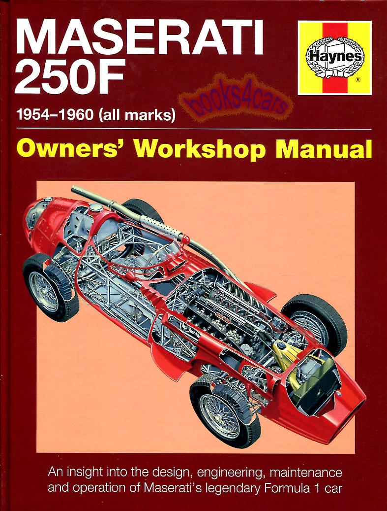 Ferrari 250 GTO 250GTO Haynes Manual H5384 NEW