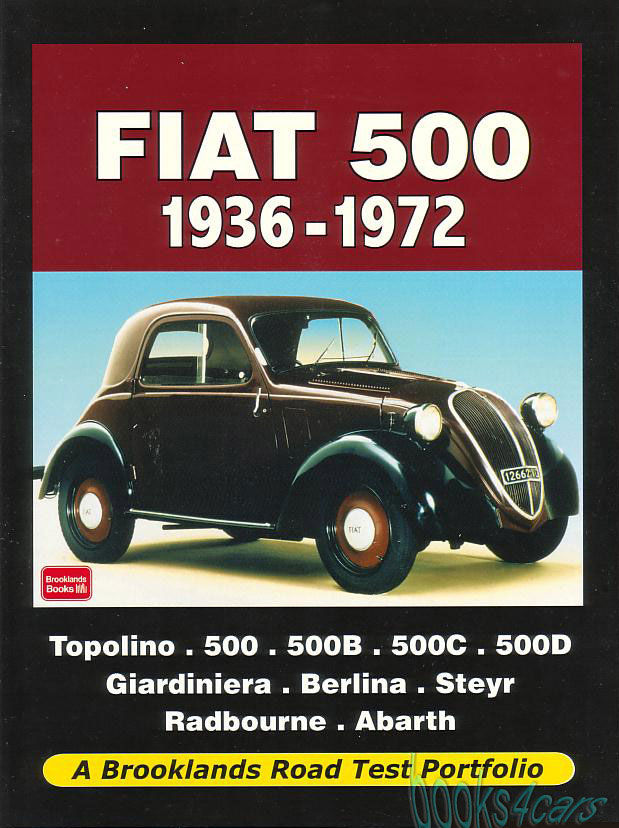 fiat topolino manuals at books4cars com rh books4cars com 1937 Fiat Topolino Interior Fiat Topolino Street Rod