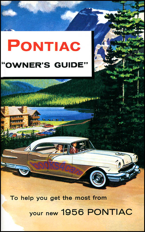 1956 pontiac owners manual book starchief safari 56 ebay rh ebay com pontiac g3 owner's manual pontiac owners manual