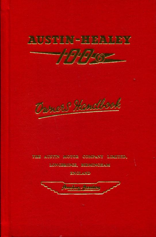 AUSTIN HEALEY 100 SHOP MANUAL SERVICE REPAIR BOOK 52-56