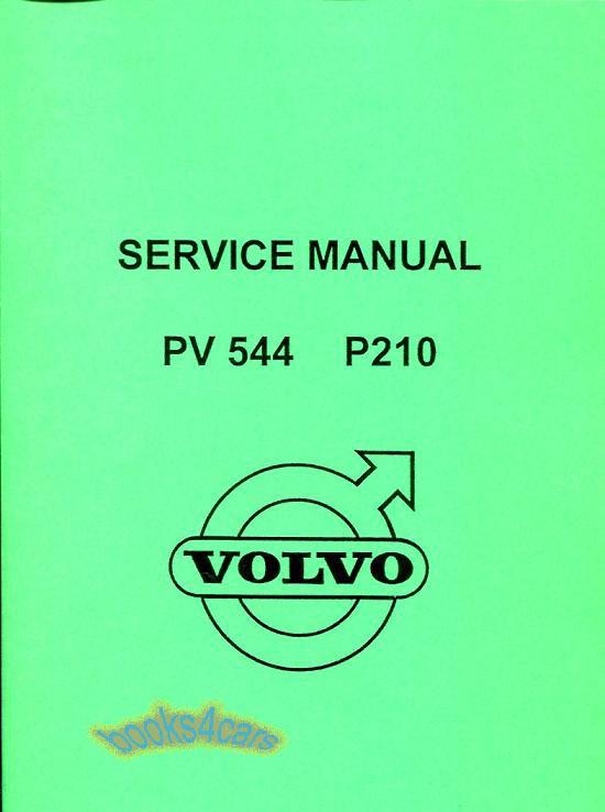 Volvo 544 Shop  Service Manuals At Books4cars Com