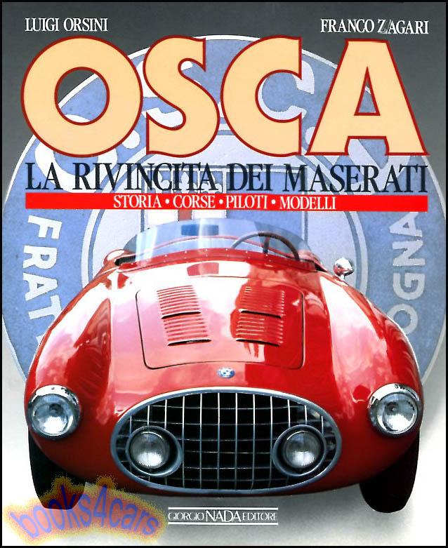 SCAGLIONE BOOK FRANCO DESIGNER BERTONE ALFA ROMEO ABARTH OSCA SIATA FIAT NSU ITA