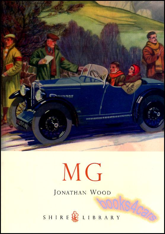 Mg book mgb mga tc td tf midget wood mgc mgf rv8 zs ta sa for Table th td tf