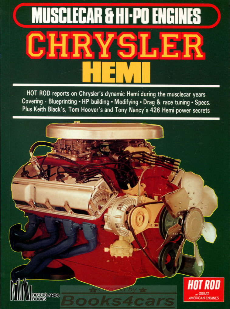 1964-92 Covers All Mopar A HP Books How to Hot Rod Small-Block Mopar Engines