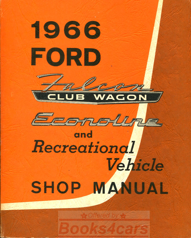 Ford Econoline Manuals At Books4cars Com