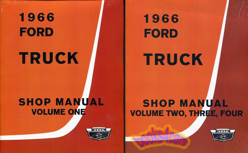 shop manual ford truck service repair 1966 book f100 f150 f250 rh ebay com 1966 ford mustang shop manual pdf 1966 ford shop manual pdf