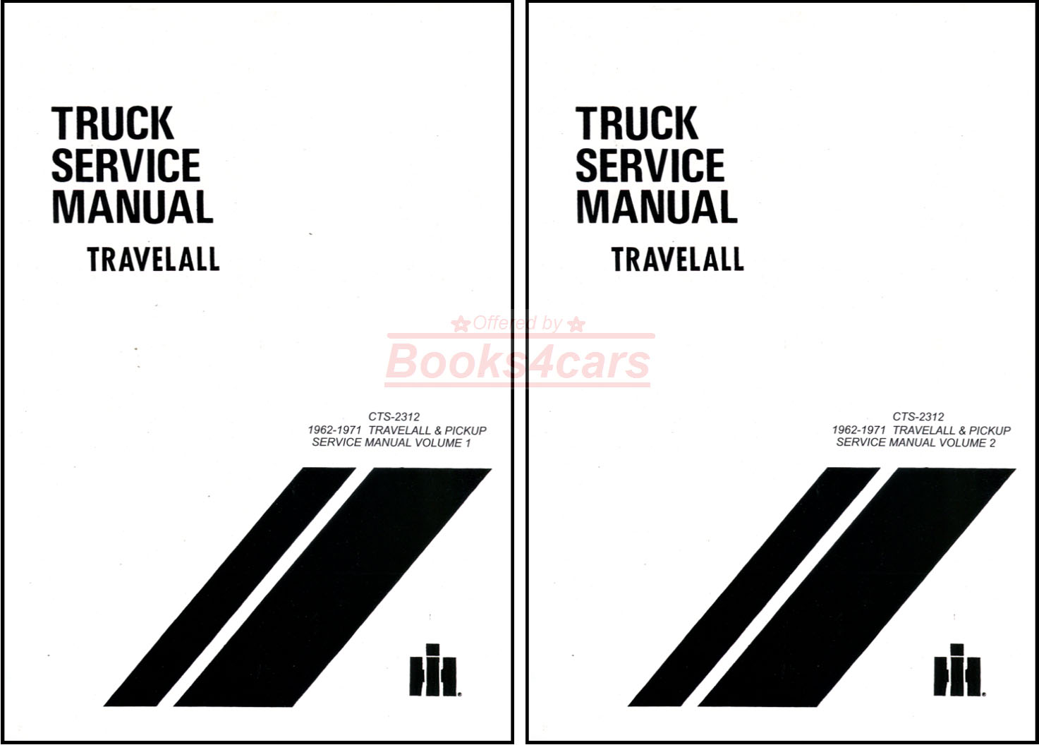 International Shop Service Manuals At 1948 Farmall Cub Wiring Diagram Manual 62 71 Travelall Pickups Half Ton To One Repair By 67 9468