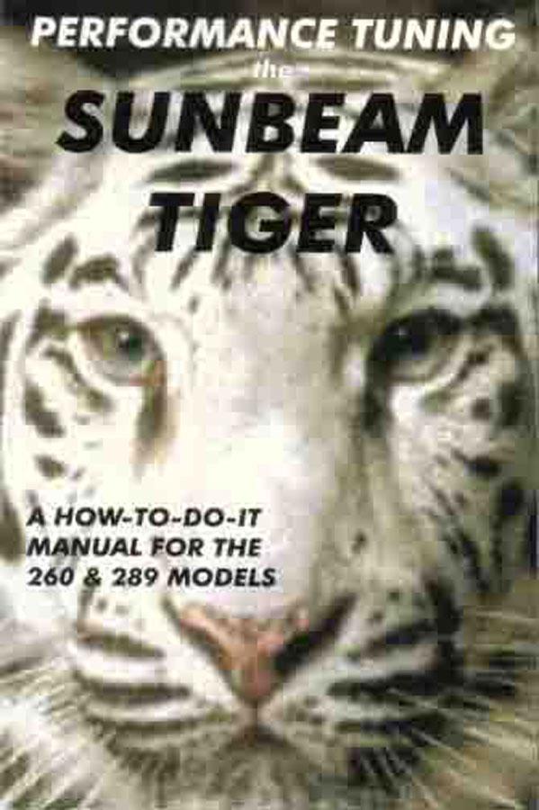Sunbeam Tiger Manual Book 260 289 Performance Repair