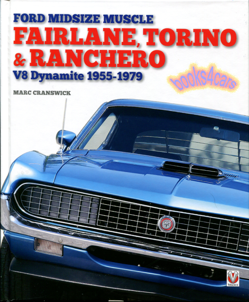 Mercury Cyclone Restoration Guide 1968-1971 Ford Torino GT Original Part Numbe