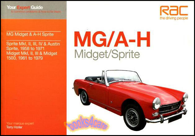 "1500 Mg Midget 1975-1979 Repair Workshop Service Manual Bentley  /""Hardcover/"""