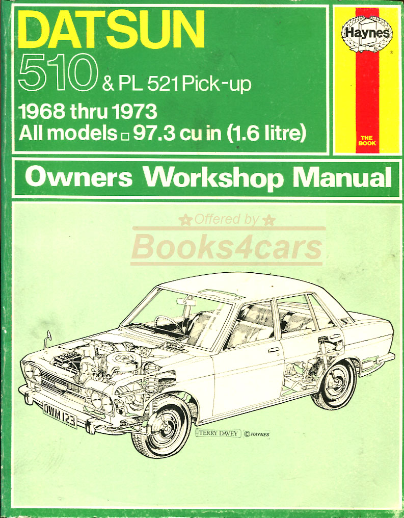 Datsun 510 Manuals At Books4cars Com border=