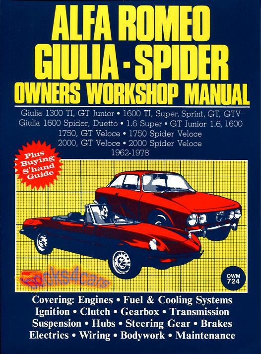 alfa romeo 1750 manuals at books4cars com rh books4cars com workshop manual alfa romeo 156 workshop manual alfa 159