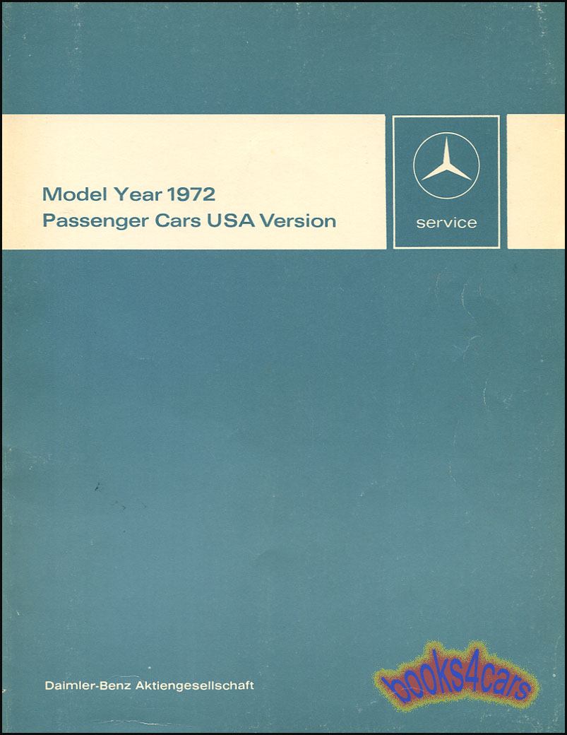 72_Tech_Intro mercedes manuals at books4cars com 1965 mercedes 220s wiring diagram at bayanpartner.co