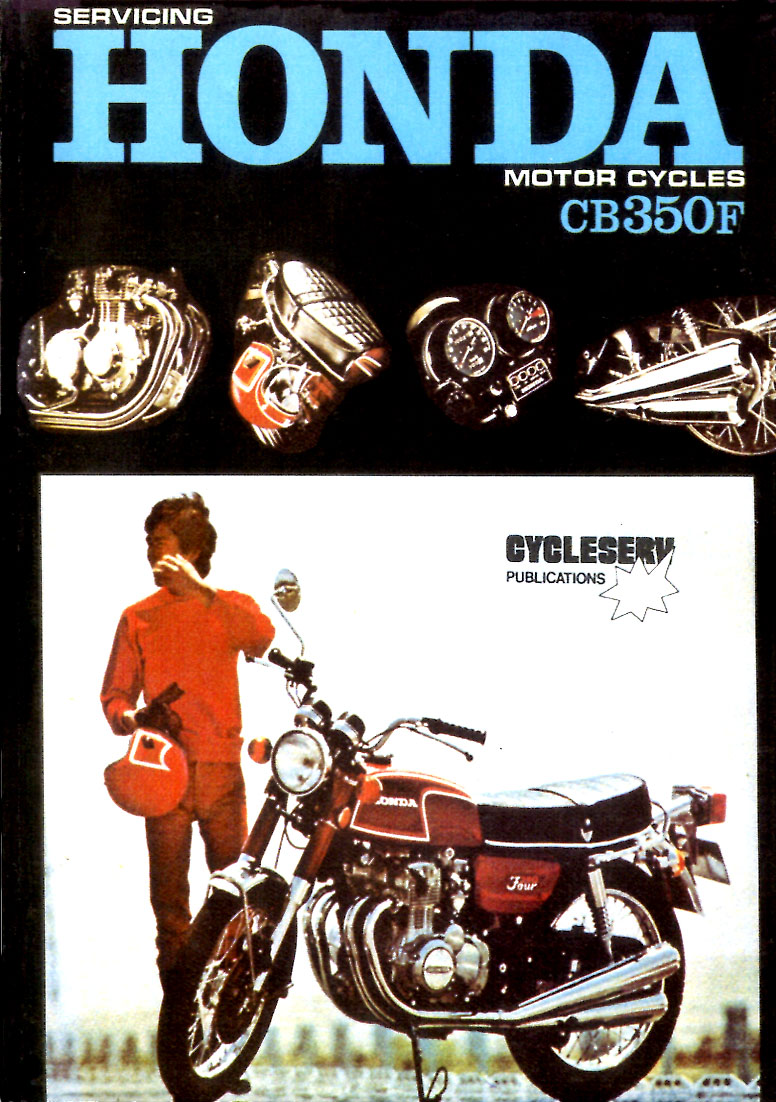 Honda Manuals At Cb125s Chilton Electrical Wiring Diagram 72 74 Cb350f 4 Cylinder Shop Service Repair Manual For 88 Pages 73 Cs H604