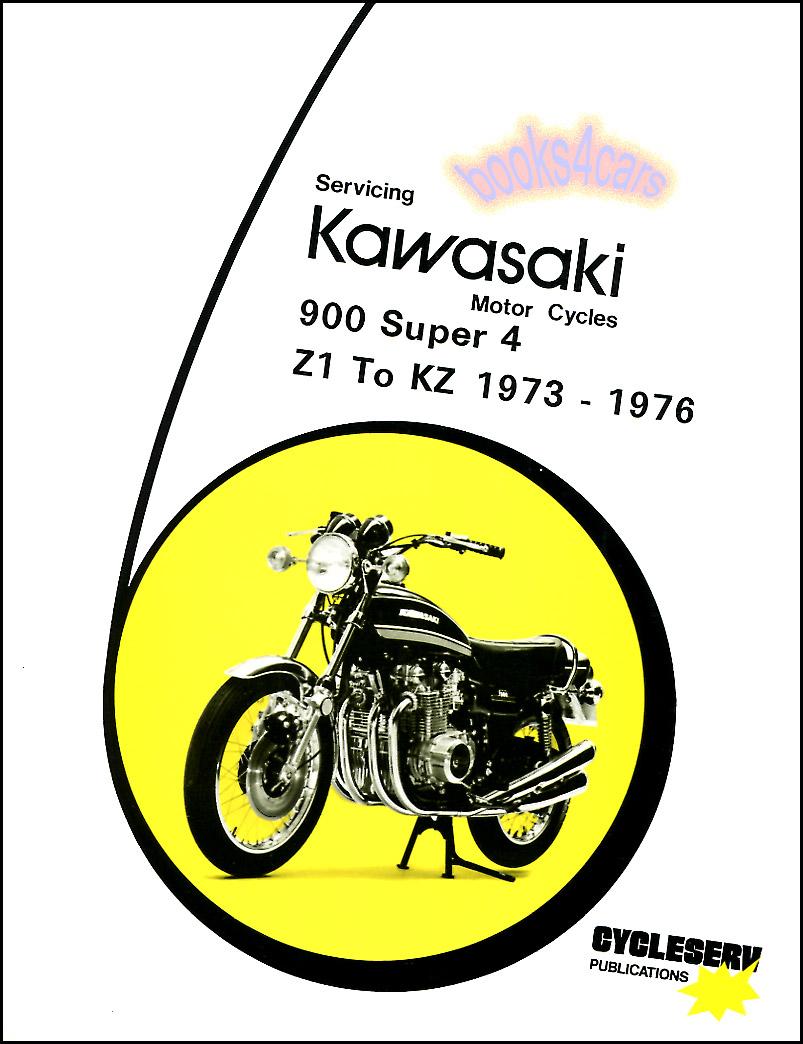 Clymer Kawasaki Z1 900 KZ 900 1000 1973-1979 repair service manual book USED