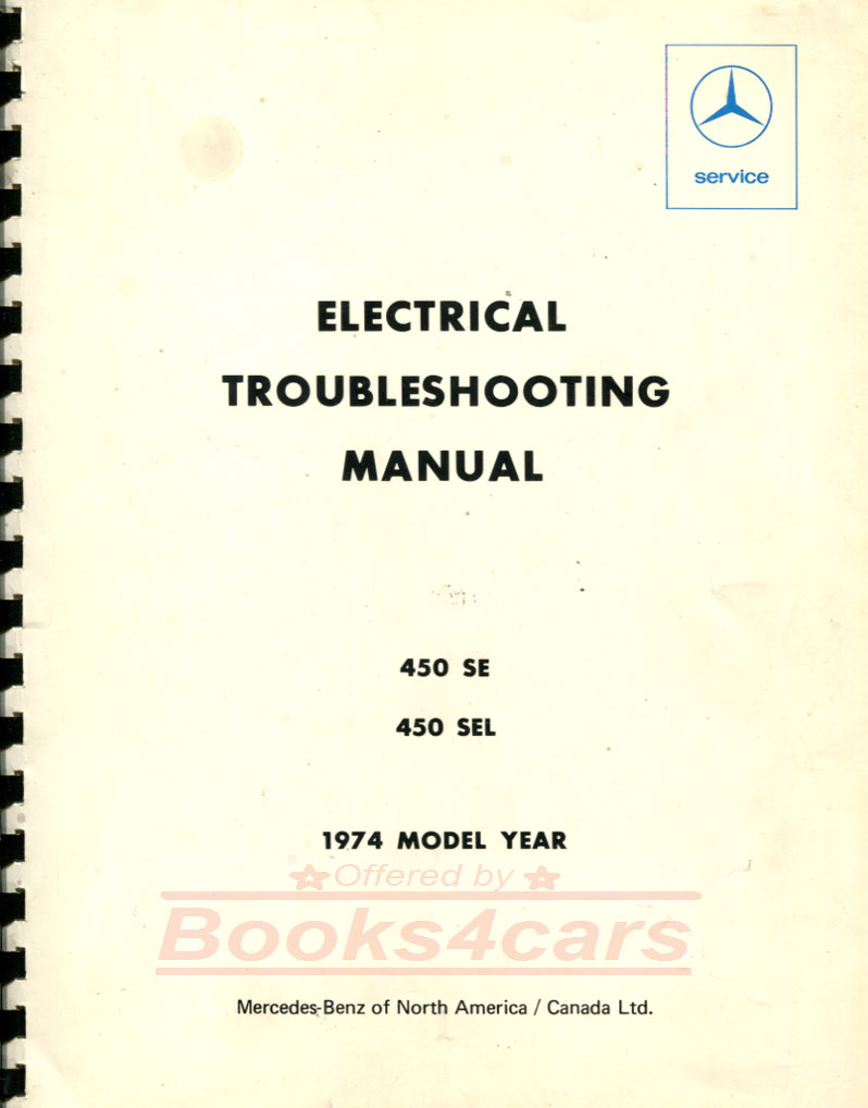 74_S_2416_116 mercedes manuals at books4cars com 1973 Mercedes 450SEL at crackthecode.co