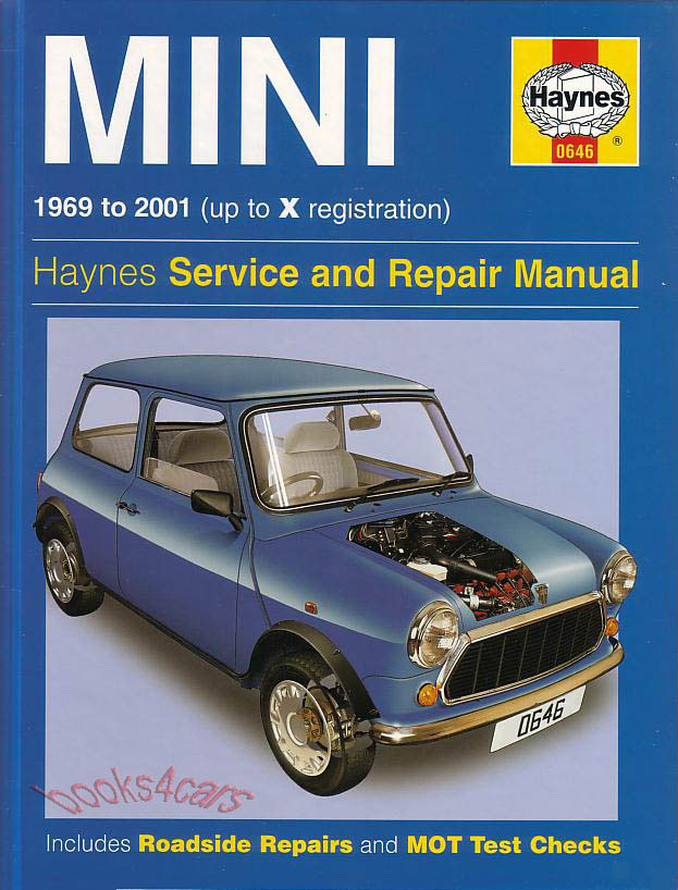 mini shop manual service repair book austin morris cooper. Black Bedroom Furniture Sets. Home Design Ideas