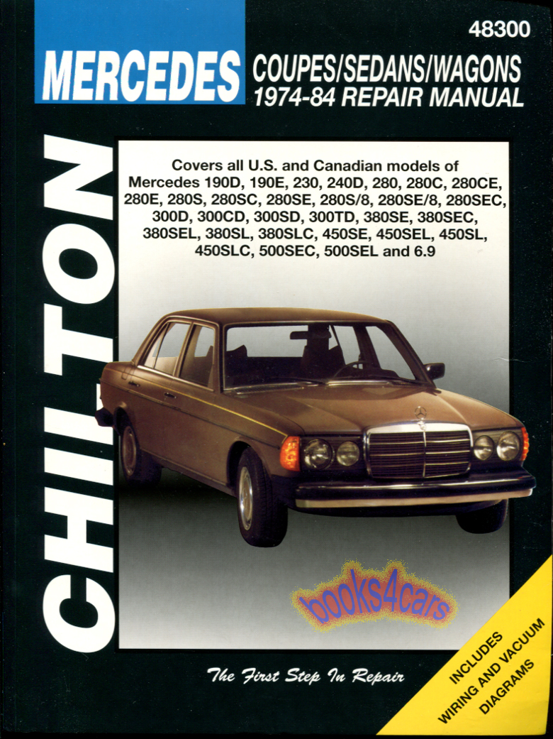 mercedes 300cd manuals at books4cars com rh books4cars com Mercedes 300 E 1978 Mercedes 240 Diesel
