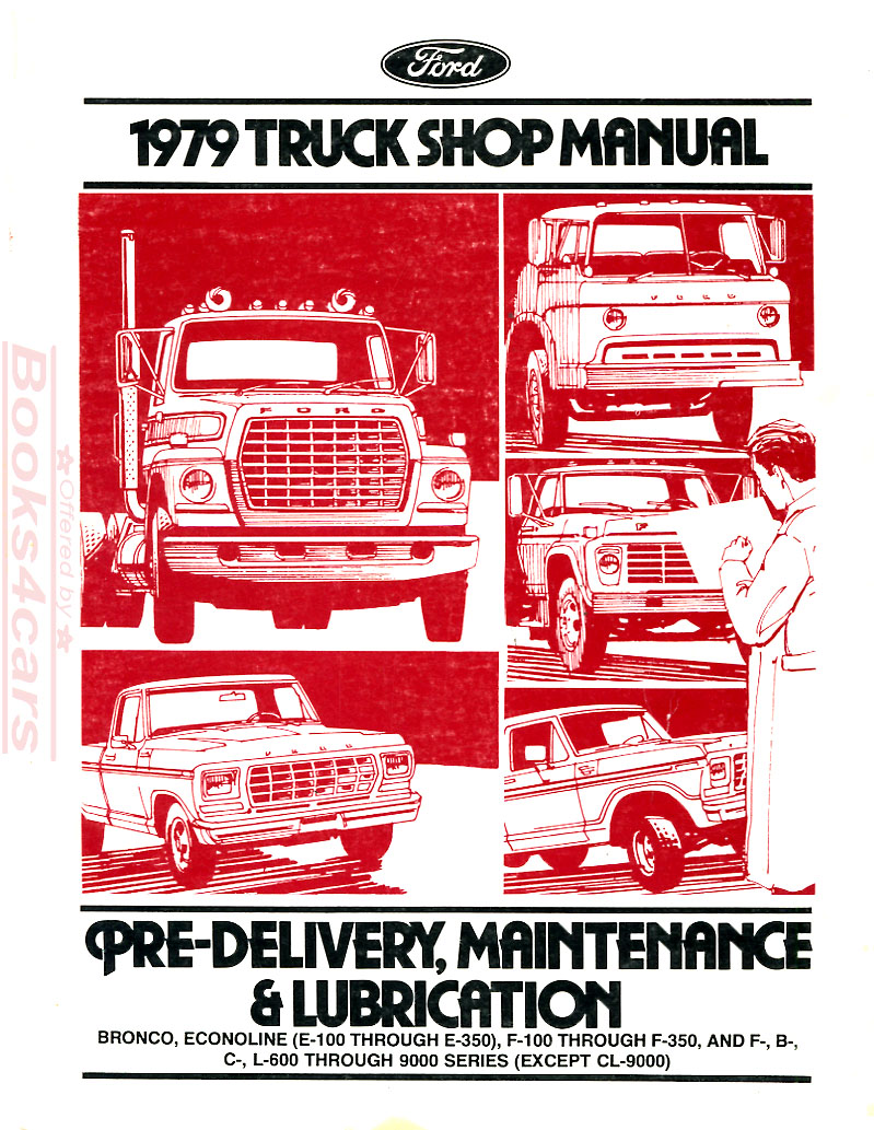 85 Ford F700 Shop Manual Starter And Anti Creep Circuit Wiring Diagram For 1953 Studebaker Champion Commander Array Heavy Service Manuals At Books4cars Com Rh