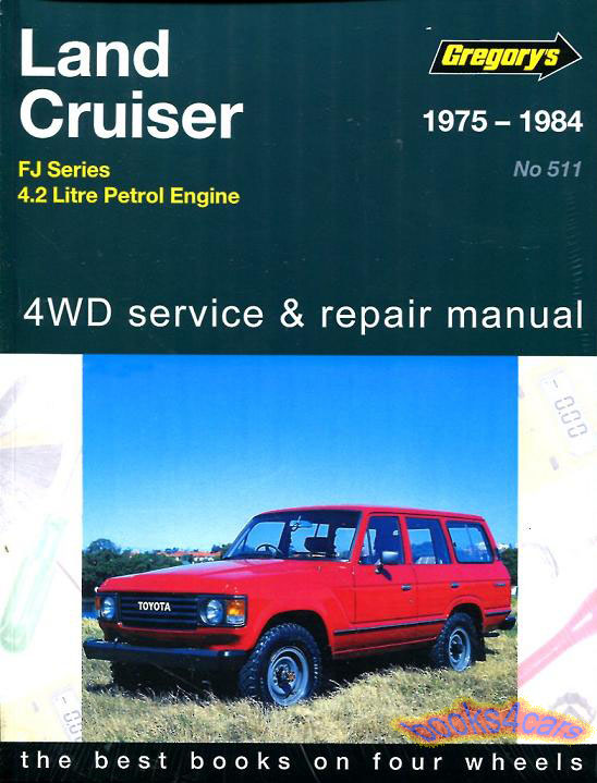 toyota truck shop service manuals at books4cars com rh books4cars com 1995 Toyota Land Cruiser Toyota Land Cruiser FJ40