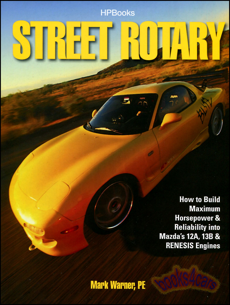 Mazda Rx7 Shop Service Manuals At 79 Rx 7 Transmission Diagram Street Rotary By M Warner How To Build Maximum Horsepower Reliability Into Engines 80 Hp 1549