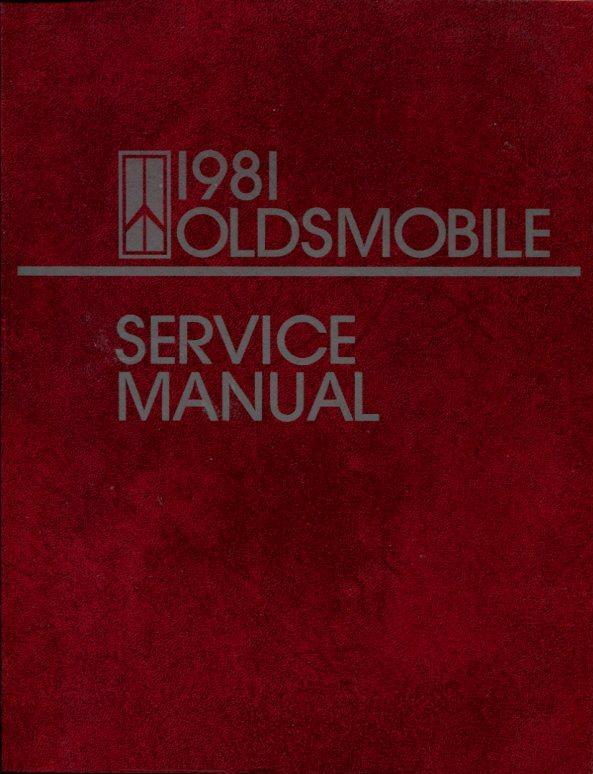 shop manual oldsmobile service repair 1981 book haynes chilton. Black Bedroom Furniture Sets. Home Design Ideas
