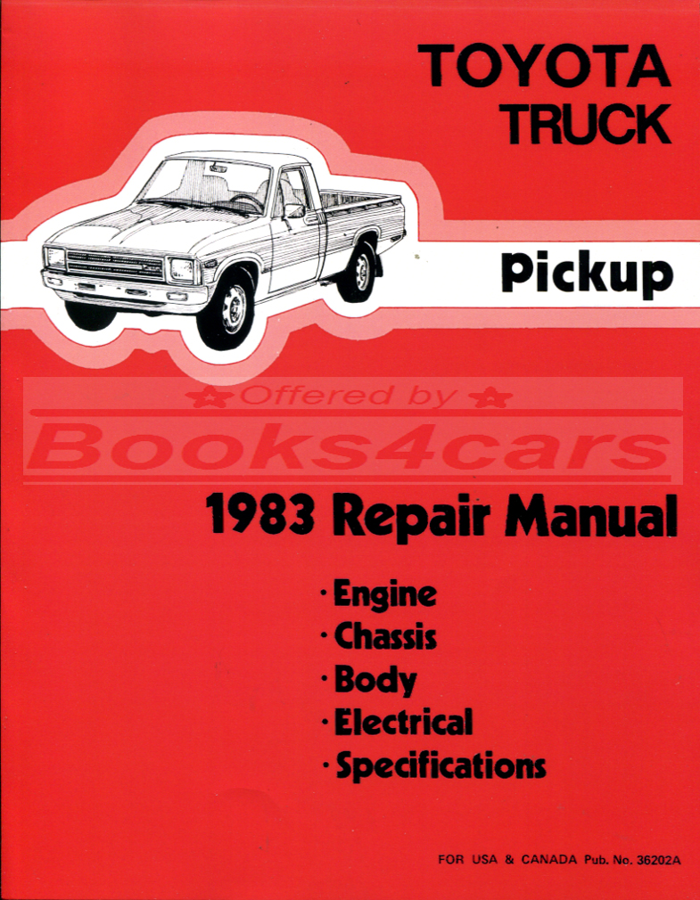 1993 toyota truck service manual open source user manual u2022 rh dramatic varieties com 1999 Toyota Pickup 1998 Toyota Pickup