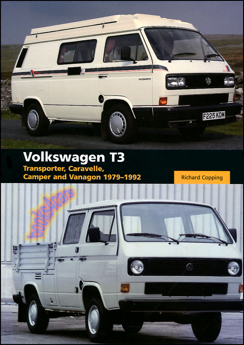 volkswagen vanagon t3 book transporter camper van westfalia copping syncro bus ebay. Black Bedroom Furniture Sets. Home Design Ideas
