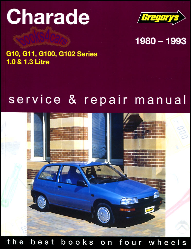 daihatsu charade shop manual service repair book haynes chilton 80 rh ebay  co uk manual book daihatsu charade g102 ...