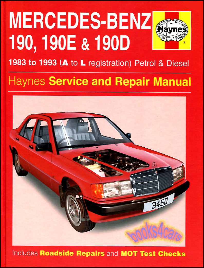 1987 Mercedes 300e Repair Manual Various Owner Guide 1989 Benz Parts Shop 190 Service Book 190e 190d Haynes 2 3 Rh Ebay Com 560sel