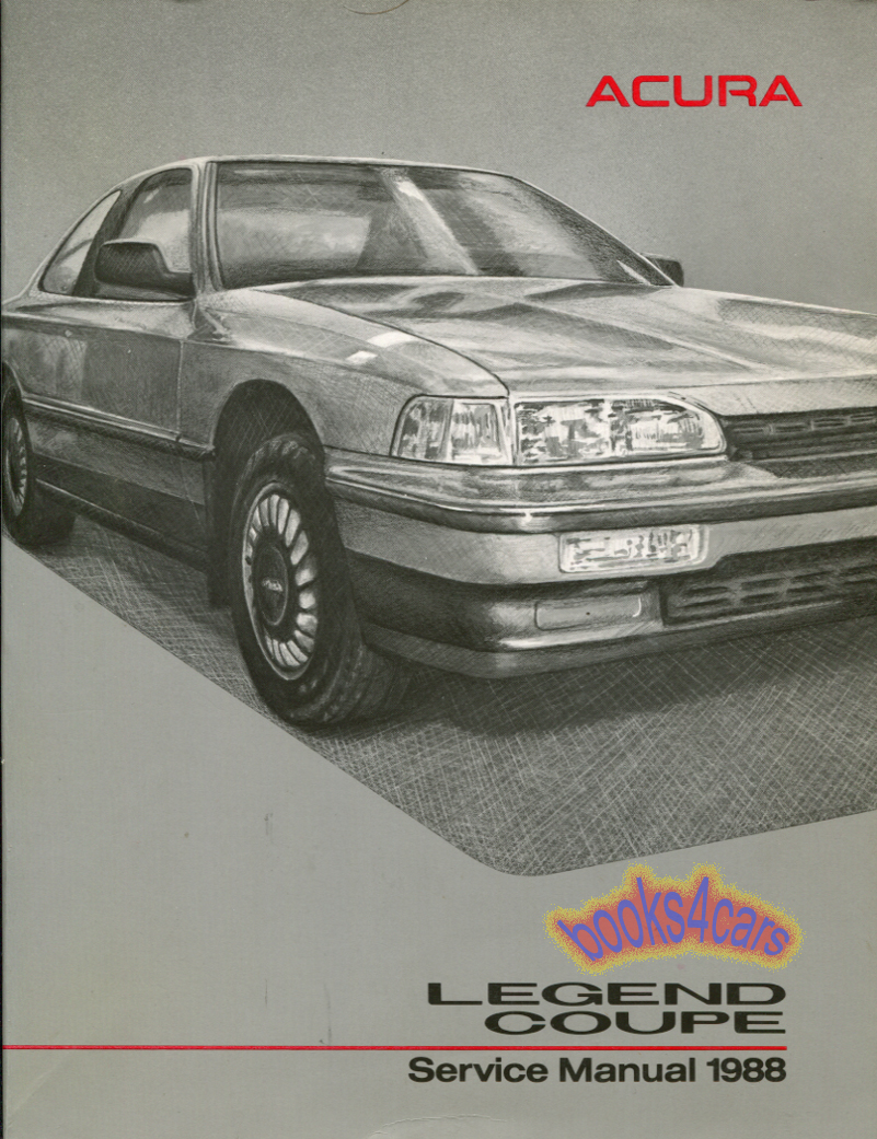1992 Acura Legend Coupe On 93 Acura Legend Wiring Diagram