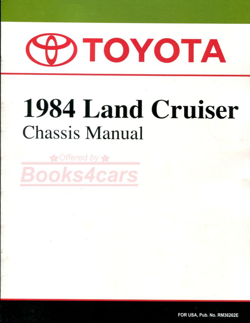 land cruiser 70 repair manual