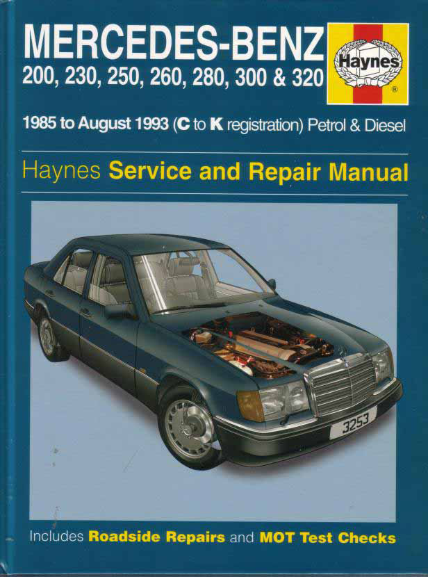 mercedes 124 shop manual service repair book haynes 300e. Black Bedroom Furniture Sets. Home Design Ideas