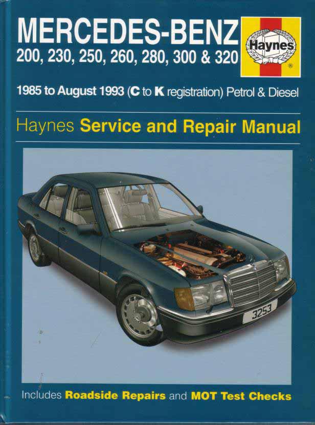 Mercedes w124 repair manual pdf for Mercedes benz owners manual