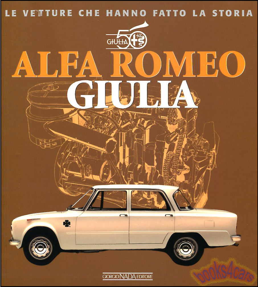ALFA ROMEO GIULIA BOOK TI SUPER ARDIZIO SEDAN BERLINA