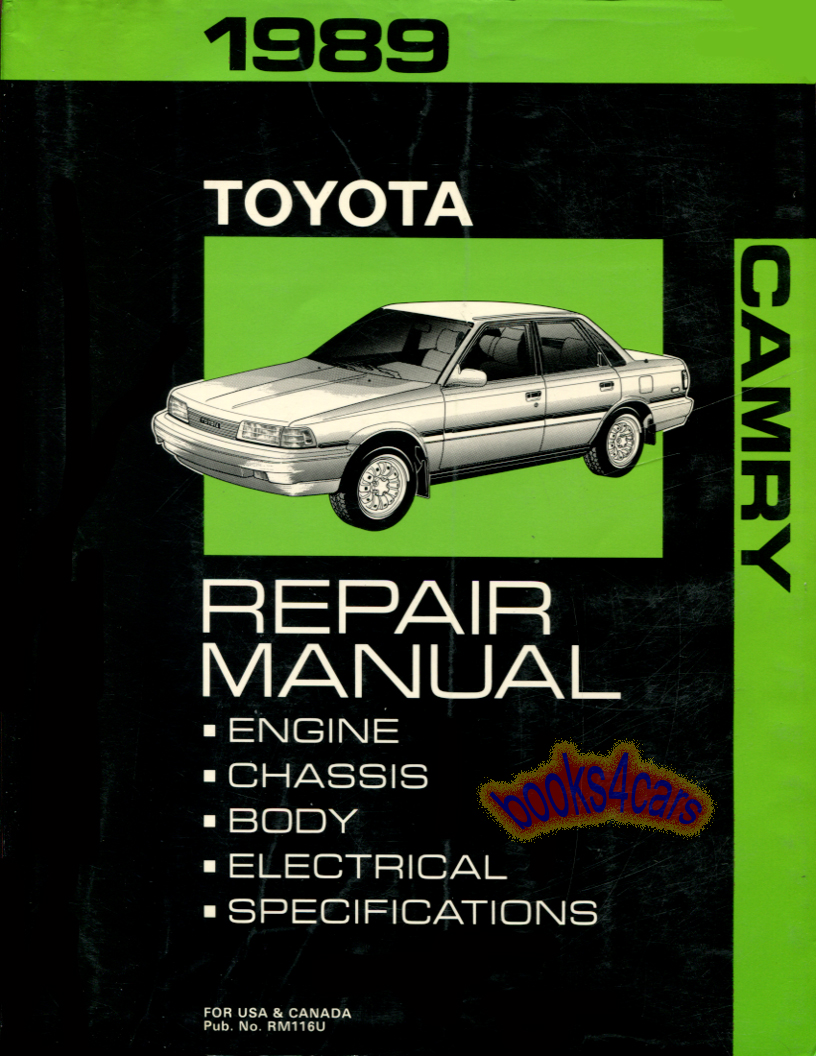 1992 Toyota Camry Electrical Wiring Diagram Guide Handbook ... on