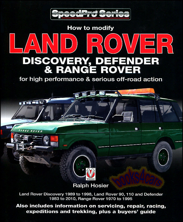 how to modify land rover discovery range rover defender manual book rh ebay com 2008 Supercharged Range Rover Modifications Range Rover Conversion Kit Chevy