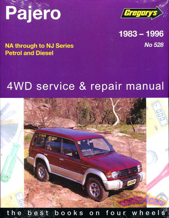 mitsubishi montero shop service manuals at books4cars com rh books4cars com Mitsubishi Pajero 2000 1995 mitsubishi montero ls owners manual