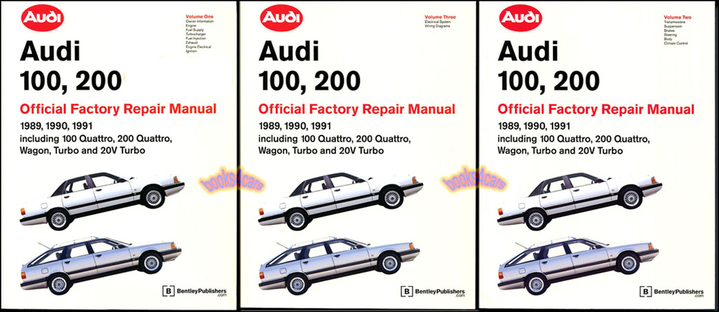 shop manual 200 100 service repair audi book official quattro rh ebay com audi 100 workshop manual audi 100 workshop manual
