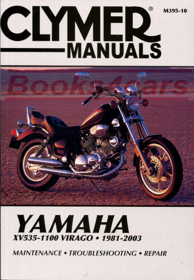 shop manual virago service repair yamaha clymer book haynes chilton rh ebay com 2005 yamaha virago 250 service manual Yamaha V Star 250 Manual