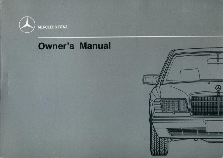 mercedes benz 420 sel repair manual