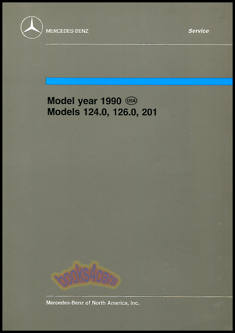 1990 Technical Introduction Manual for models 124.0 126.0 & 201 by Mercedes  automatically engaging four wheel drive (90_Tech_IntroMB) ...