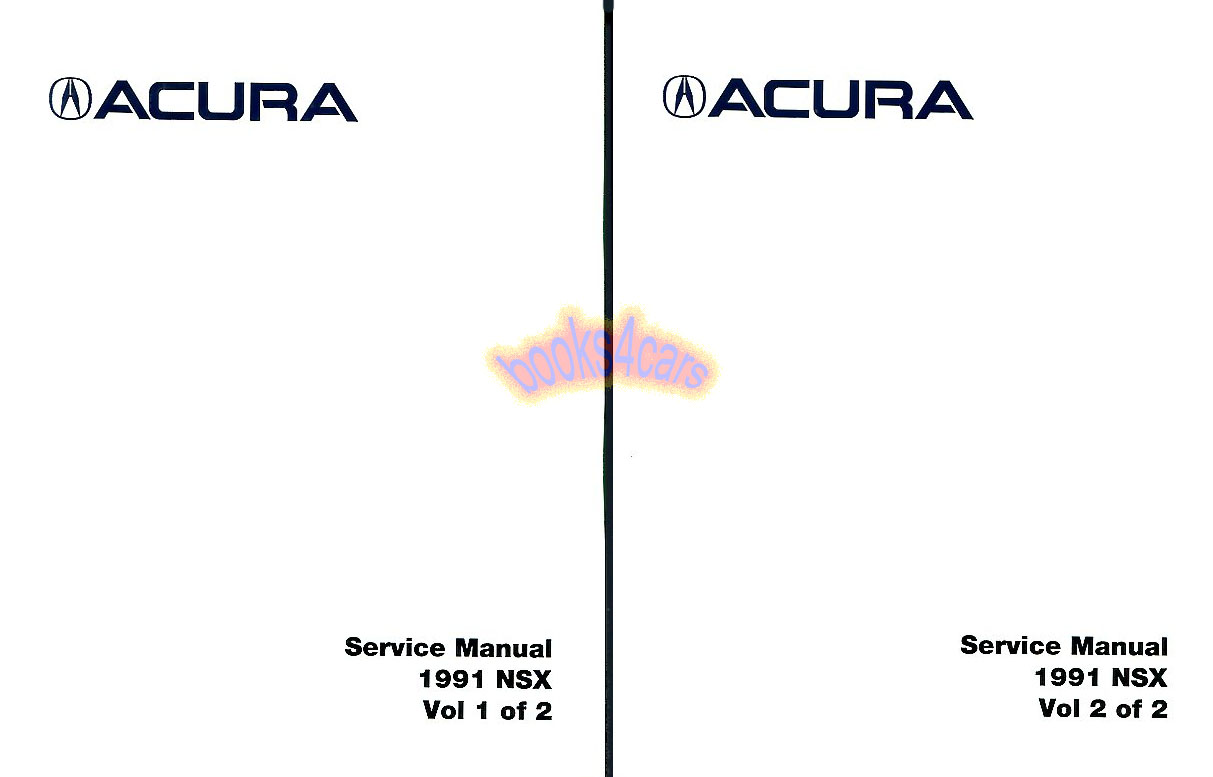 Acura Manuals At Books4cars Com