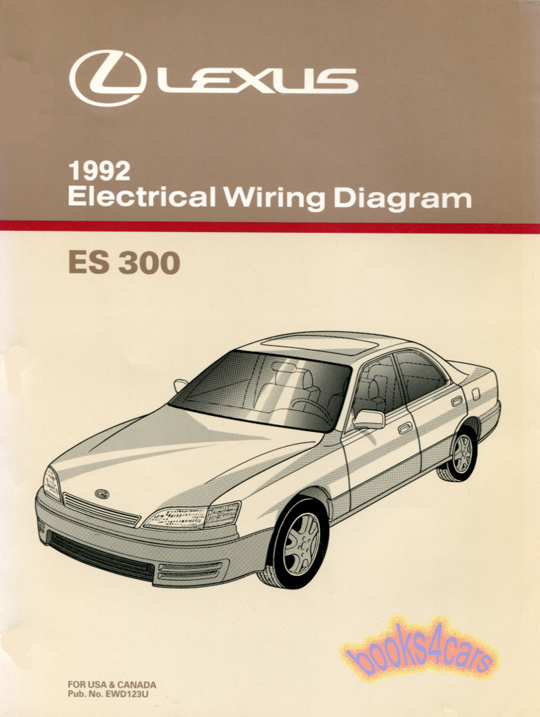 1998 Lexus Es 300 Wiring Diagram Car Diagrams Explained 2001 Stereo Es300 Manuals At Books4cars Com Rh 1997 1999