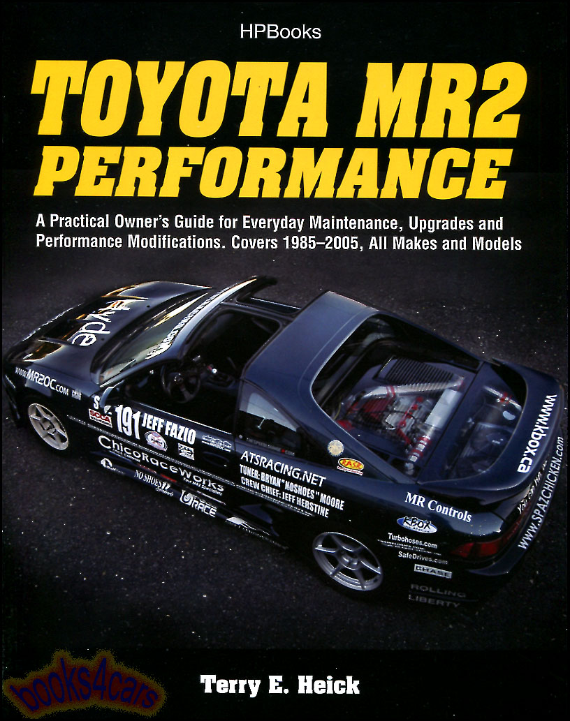 REAL BOOK 202 pages all about Toyota MR2. Book includes maintenance  procedures, performance modification, buyers guide, and much more. Book is  in New, ...