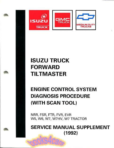 Isuzu Ftr Manuals At Books4cars Com