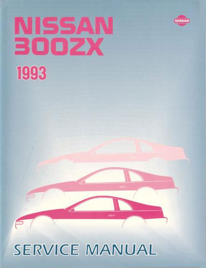 nissan 300zx manuals at books4cars com rh books4cars com Nissan Altima Repair Manual 1995 Nissan 300ZX Red