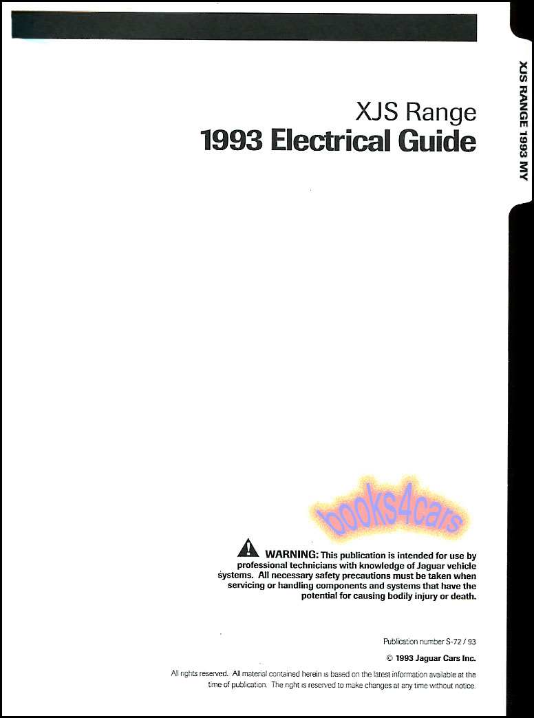 Jaguar 4 Shop Service Manuals At Wiring Diagram 64