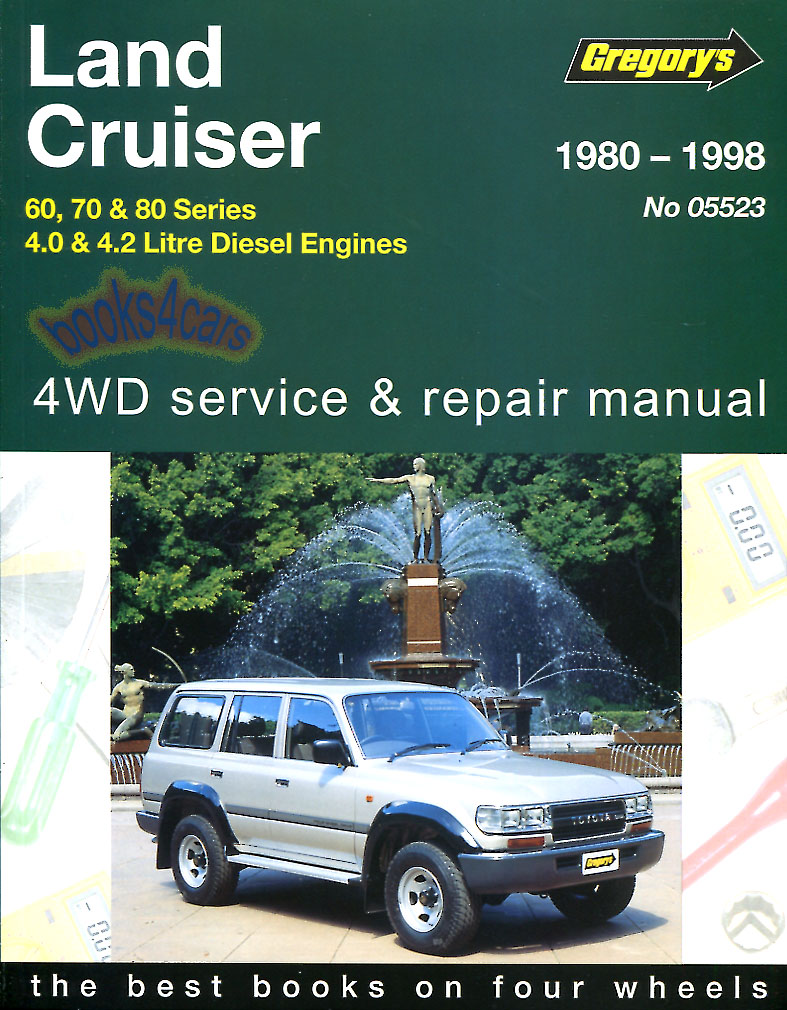 land cruiser shop manual service repair toyota book diesel gregorys rh ebay com gregorys workshop manuals australia gregorys workshop manual vt commodore